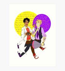 No.1 Couple in Night Vale Art Print