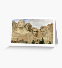 Mount Chrismore Greeting Card