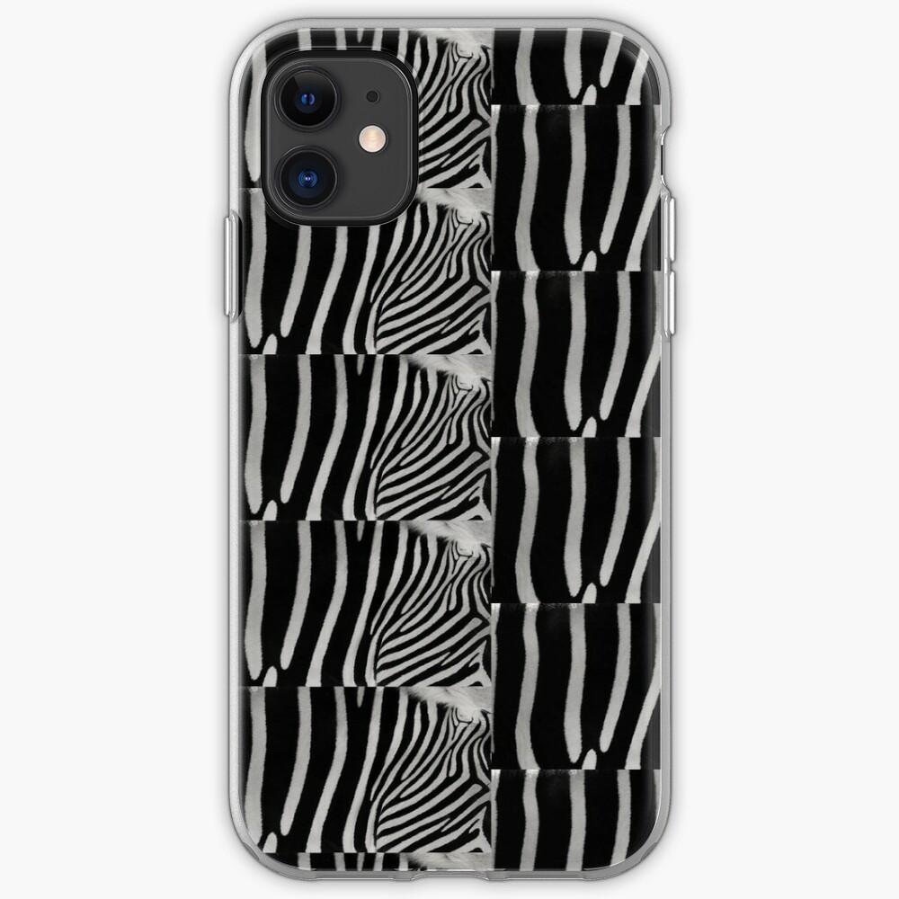 Zebra Natural Animal Design Black And White  iPhone Case & Cover