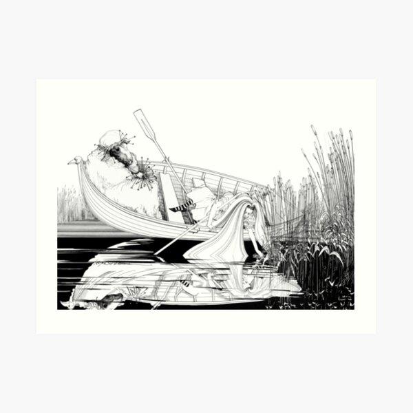 Wool & Water Art Print