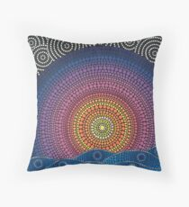 The Calm Beneath Throw Pillow
