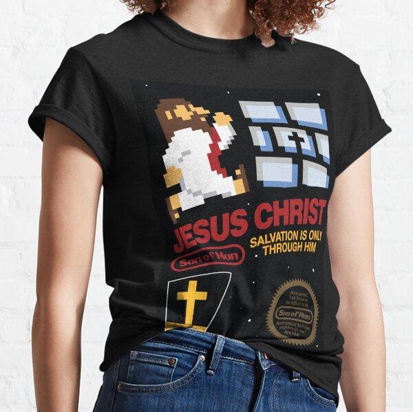 Jésus-Christ NES 8bit T-shirt classique