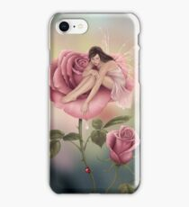 Rose Flower Fairy iPhone Case/Skin