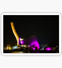 Photo Art - Abstract Buildings Sticker