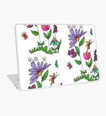 Handrawn Fleur Laptop Skin