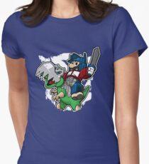 Optimus Mario Camiseta entallada para mujer
