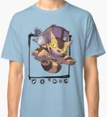 Totoro y Nekobus happy trip Camiseta clásica
