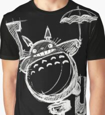 I Love Totoro and I love you too Camiseta gráfica