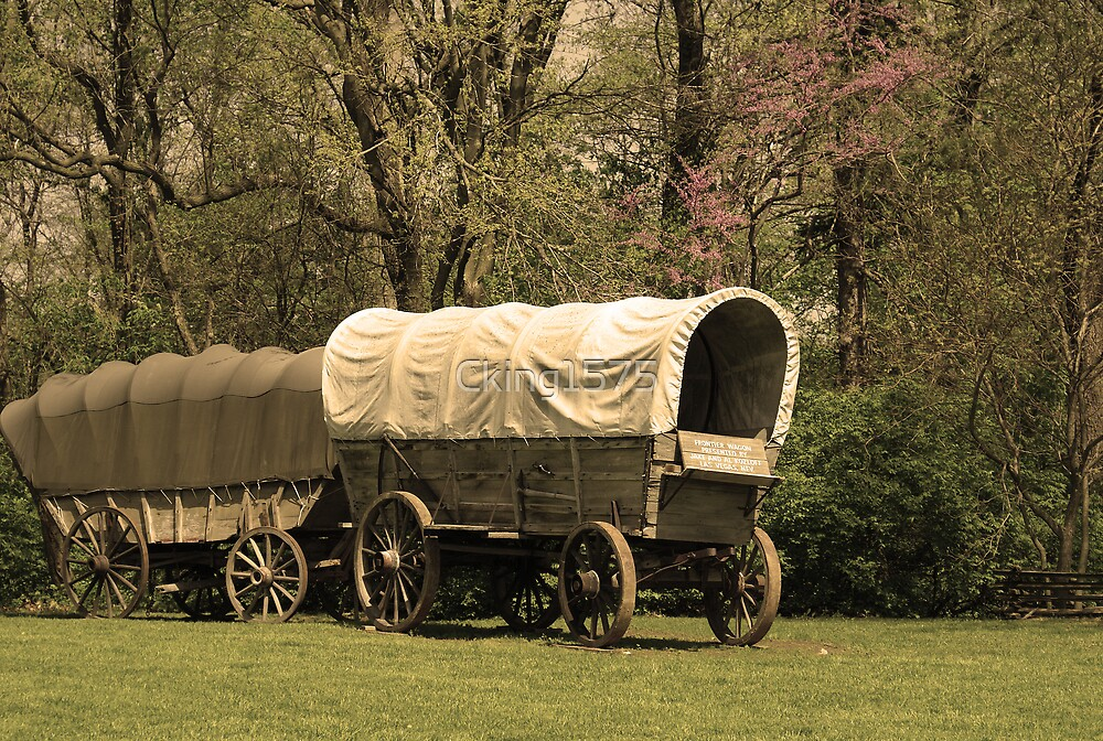 Frontier Wagon by Cking1575