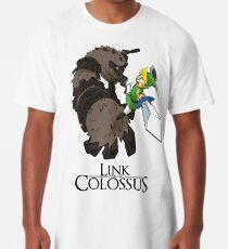 Link y el Coloso Camiseta larga