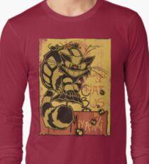 Nekobus, le Chat Noir cartel Camiseta de manga larga