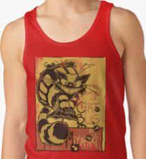 Nekobus, le Chat Noir cartel Camisetas de tirantes para hombre
