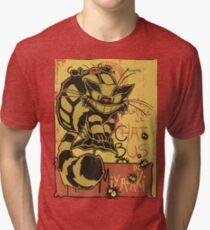 Nekobus, le Chat Noir cartel Camiseta de tejido mixto