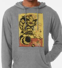 Nekobus, le Chat Noir cartel Sudadera con capucha ligera