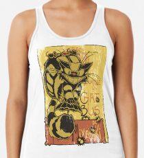 Nekobus, le Chat Noir cartel Camiseta de tirantes para mujer