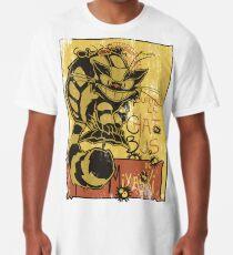 Nekobus, le Chat Noir cartel Camiseta larga