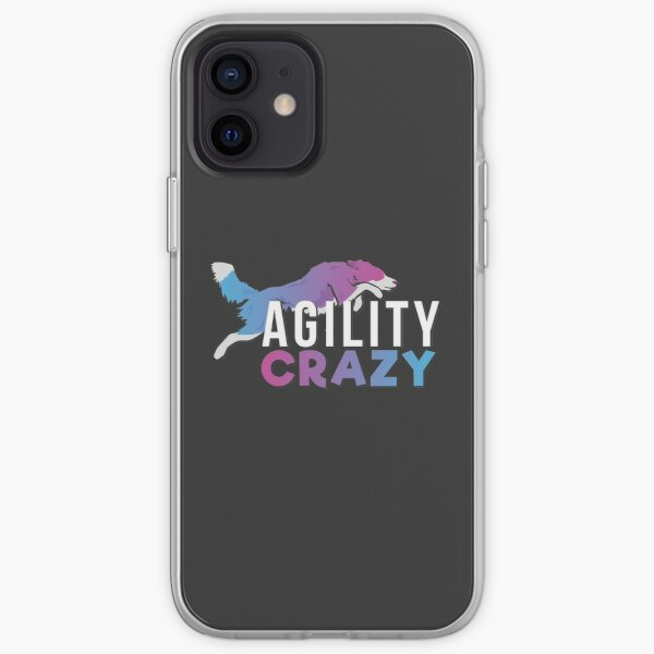 Agility CRAZY - Pink & Blue iPhone Soft Case