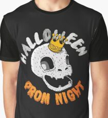 Halloween Prom Night Funny Party Graphic T-Shirt