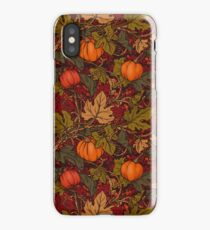 Autumn Pumpkins iPhone Case/Skin