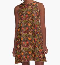 Autumn Pumpkins A-Line Dress