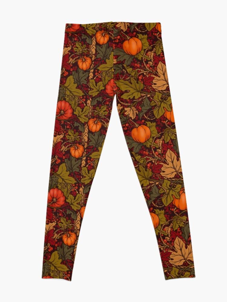 Alternate view of Autumn Pumpkins Leggings