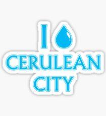 I Cascade Cerulean City Sticker