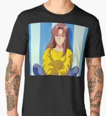 Sad Anime Girl - Atsuko Urameshi Men's Premium T-Shirt
