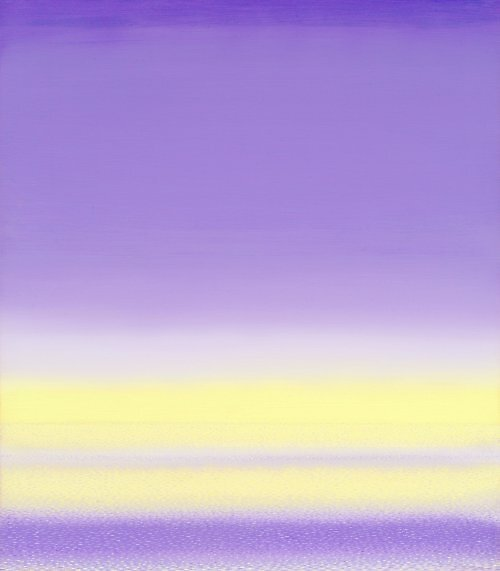 Black Light Beach; influenceed by Mark Rothko by Carson Collins