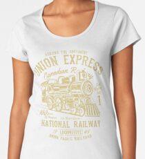 National Railway Retro Vintage Women's Premium T-Shirt