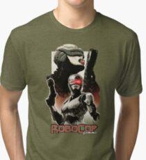 Femme Cop Camiseta de tejido mixto