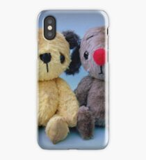Scruffy Sooty and Scruffy Sweep - Handmade bears from Teddy Bear Orphans iPhone Case/Skin