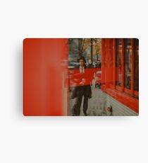 Red on St-Laurent Canvas Print