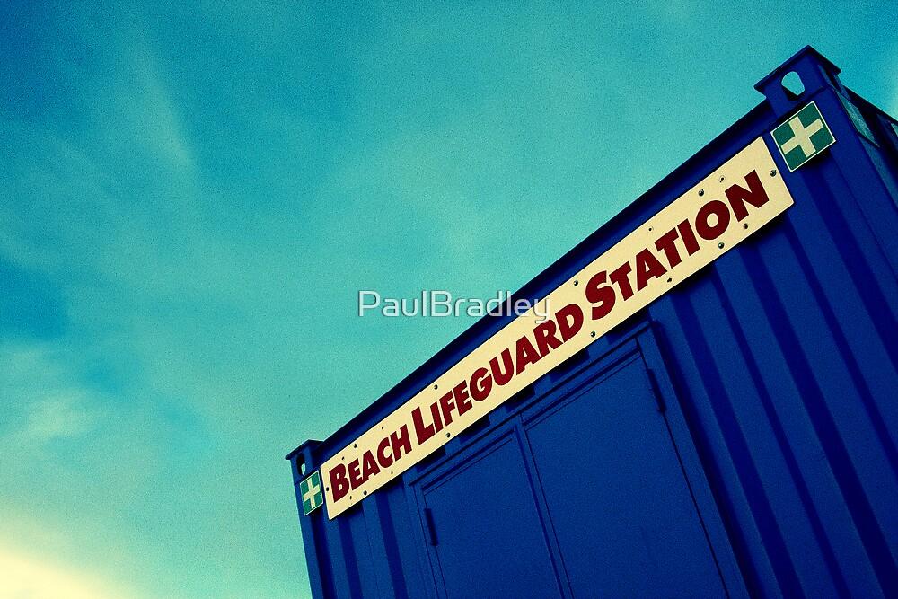 Lifeguard Station by PaulBradley