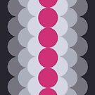 Gradual Pink Yarrow  by caligrafica