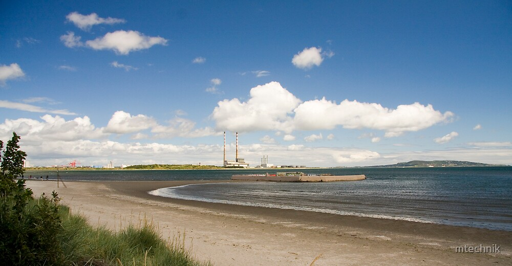 view at Sandymount by mtechnik