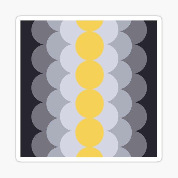 Gradual Primrose Yellow  Sticker