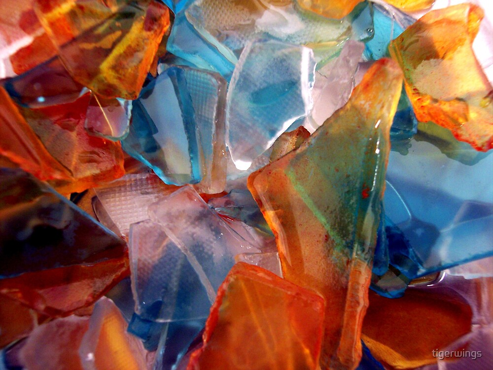 Abstract Sea Glass by tigerwings