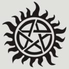 Supernatural Demon Possession Protection (Badge Version) [BLACK] by Styl0