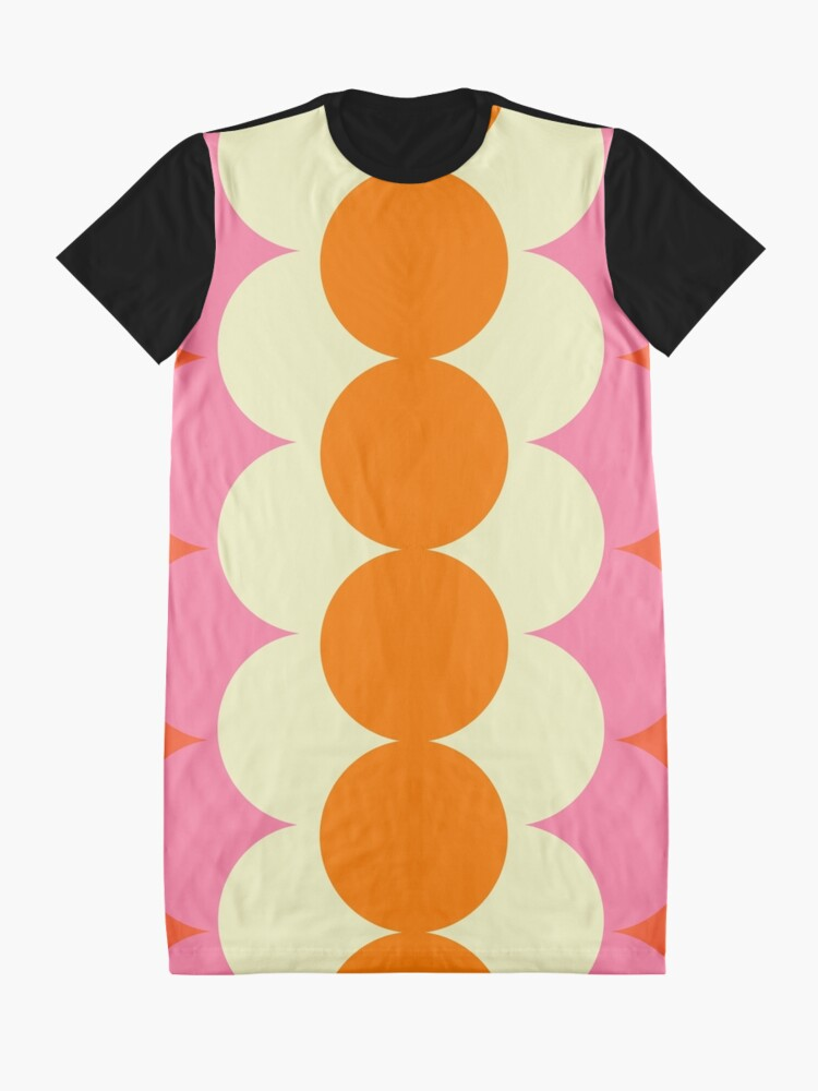 Alternate view of Gradual Sixties  Graphic T-Shirt Dress