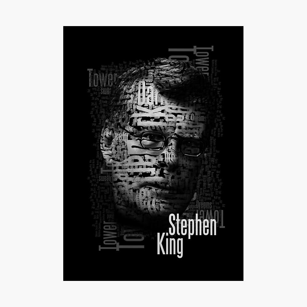 Stephen König Bücher Fotodruck