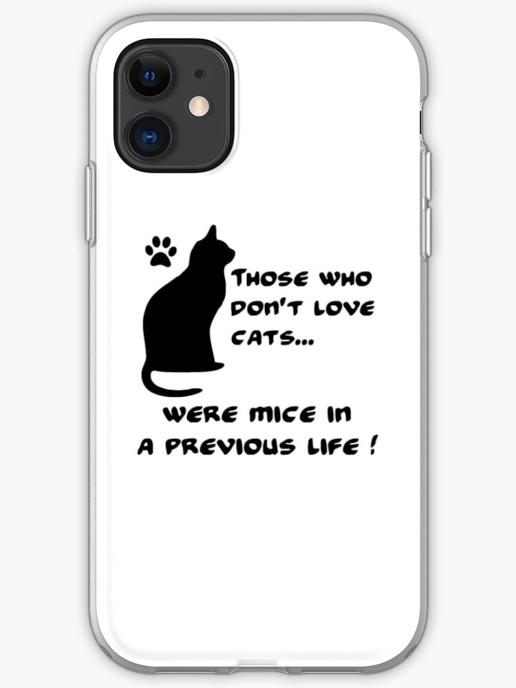 Love cats iPhone 11 case