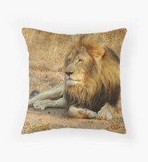 His Royal Highness Throw Pillow