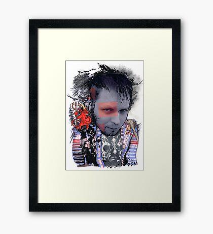 Brand Spankin' New Self Portrait Framed Print