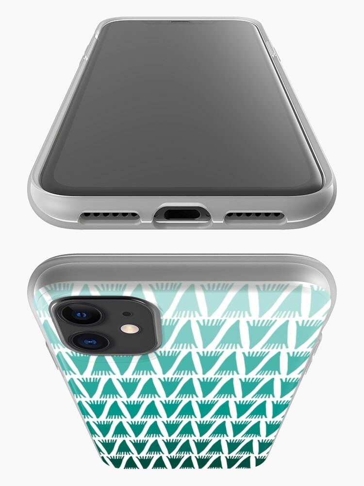Alternate view of Teepee Gradient Green  iPhone Case & Cover