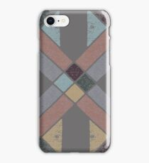 Western Tribal with Earth Tones Abstract iPhone Case/Skin