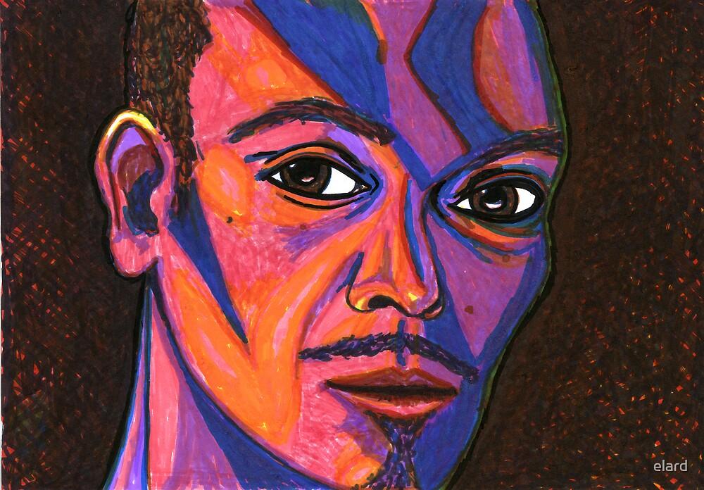 self portrait no.2  by elard