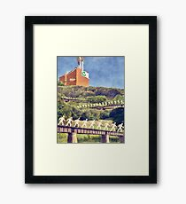 Community Recycling Framed Print