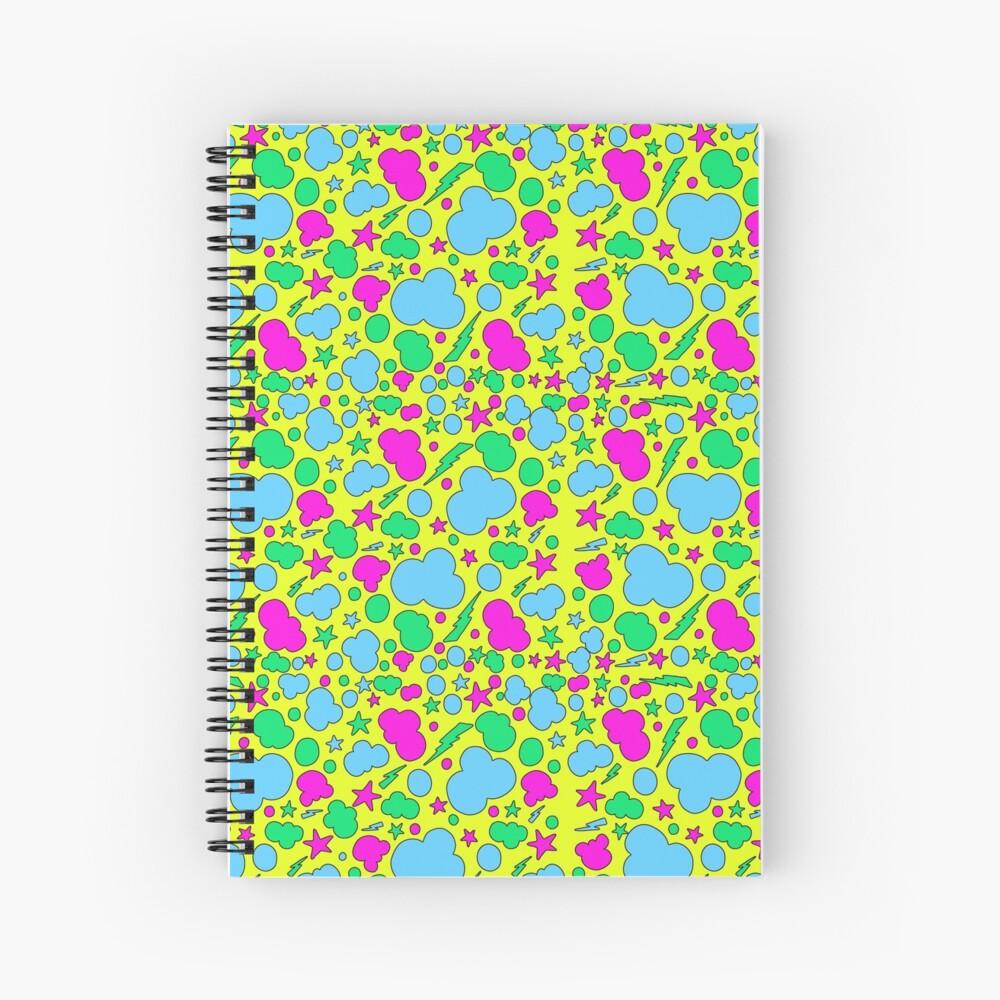 Tormenta caótica caramelo Cuaderno de espiral