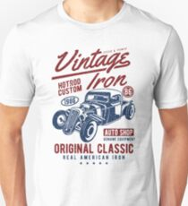 Hot Rod Car Retro Vintage T-Shirt