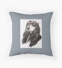 Arabian Hound Throw Pillow